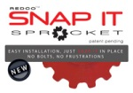 Redco Boltless Snap It Sprocket